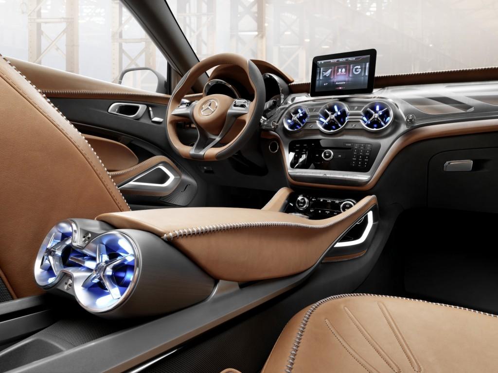 ... Mercedes-Benz Concept GLA ...
