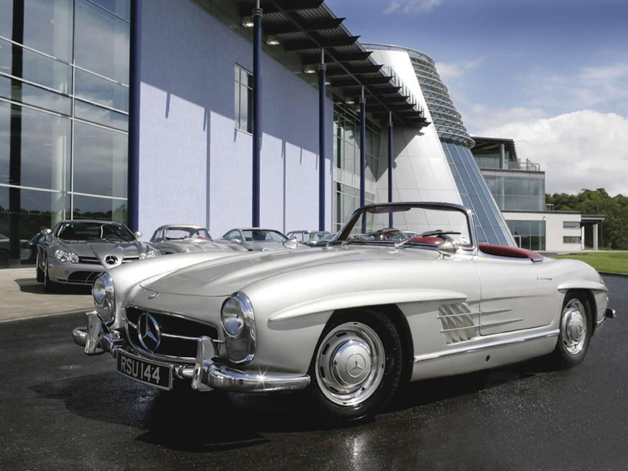 Mercedes 300sl classic roadster