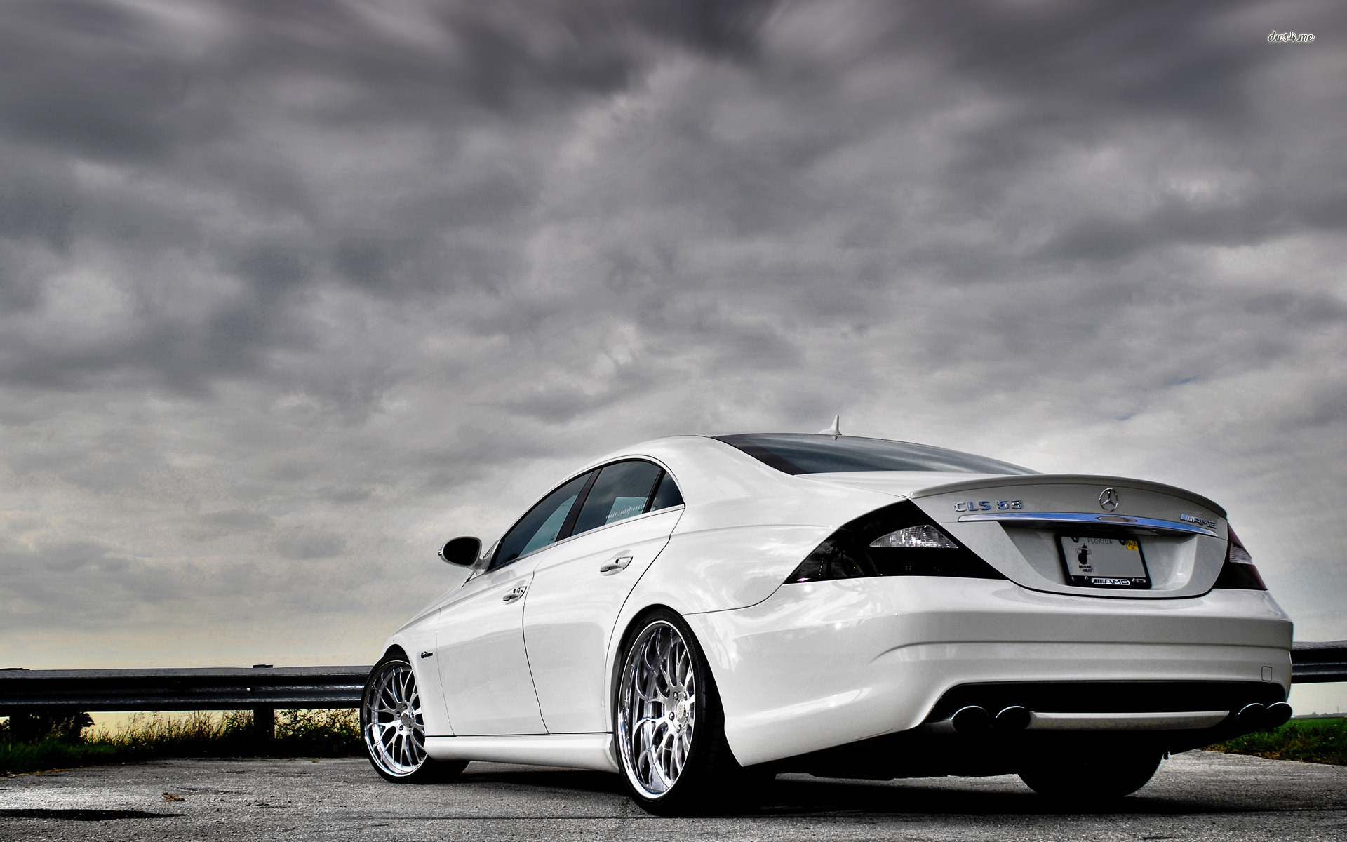 ... Mercedes-Benz CLS 63 AMG wallpaper 1920x1200 ...