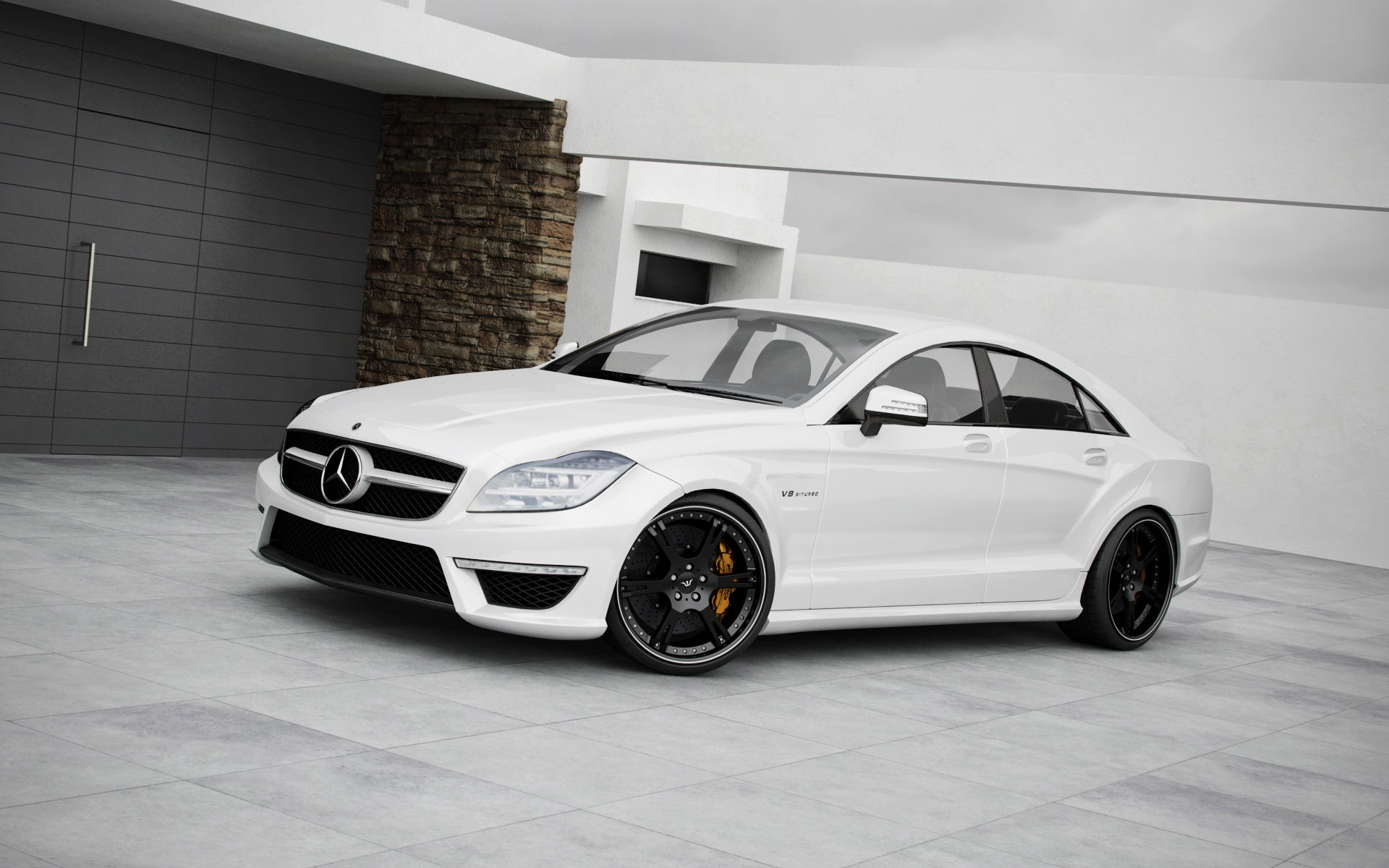 Mercedes cls63 amg wallpaper 1920x1200 17396 for Mercedes benz amg cls