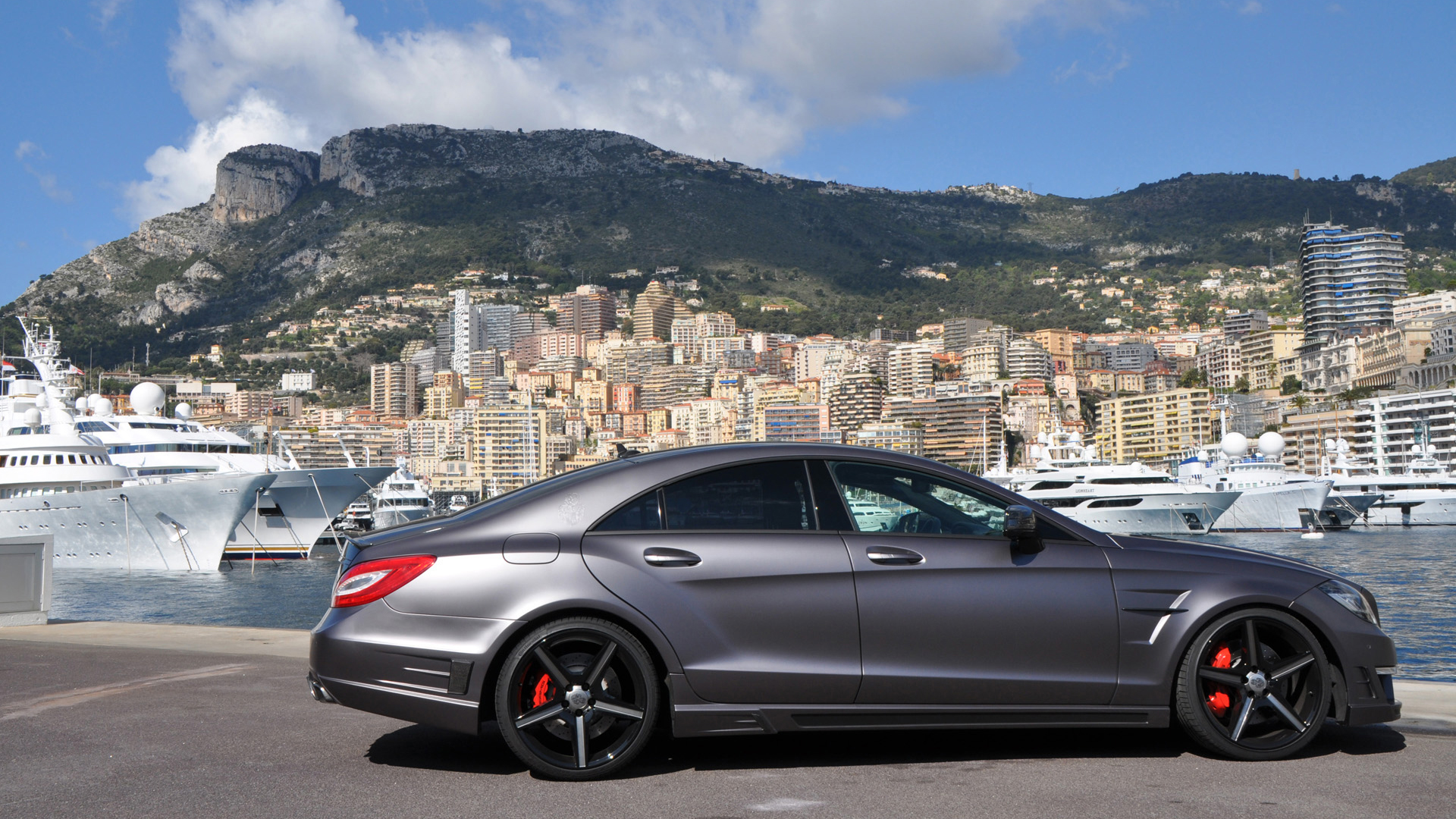 Mercedes CLS63 AMG Modification HD Wallpaper