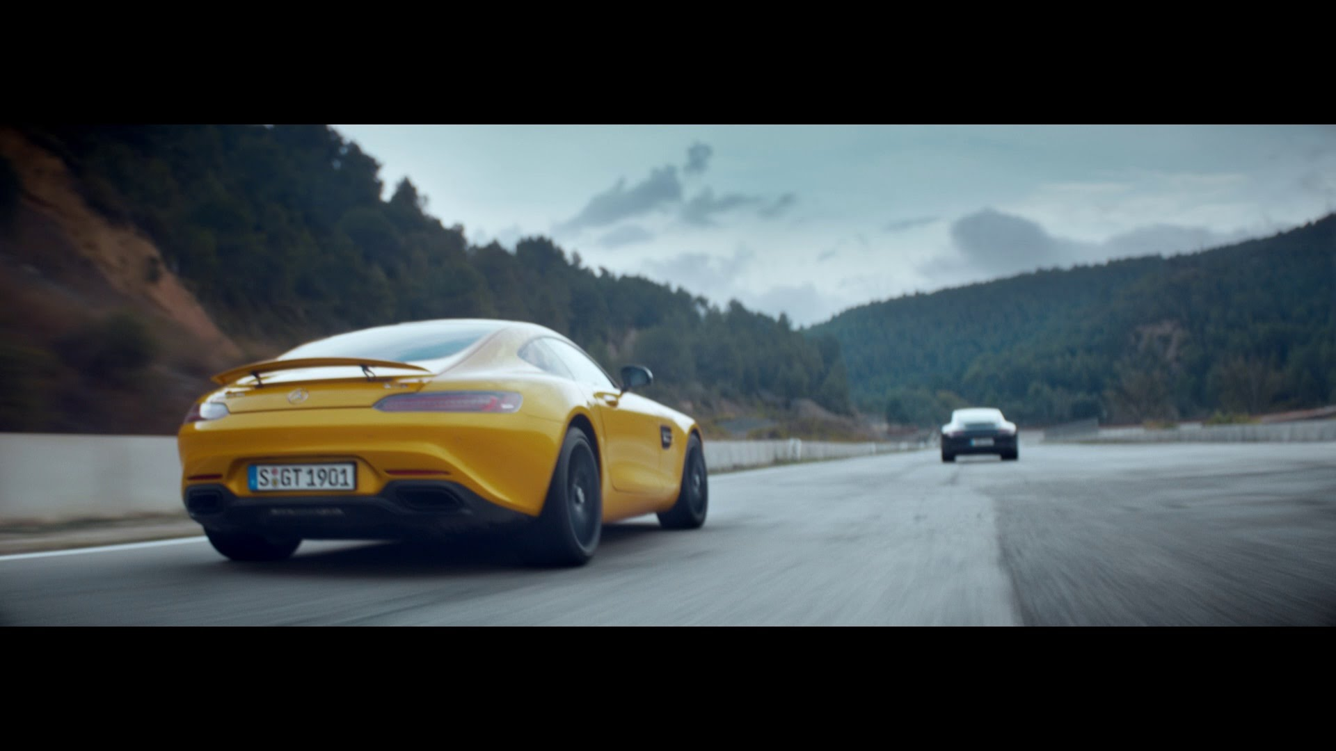 "Mercedes-Benz TV: Mercedes-AMG GT TV commercial ""Dreamcar""."