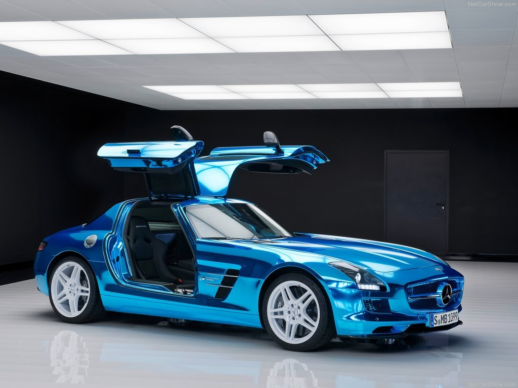 Photo of Mercedes SLS AMG Coupe Electric Drive