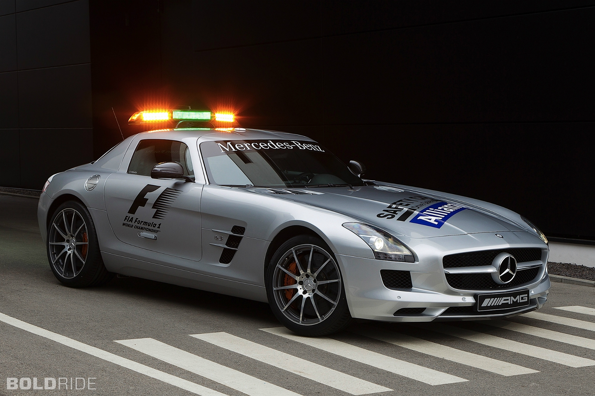 2012 Mercedes-Benz SLS AMG F1 Safety Car 1920 x 1080