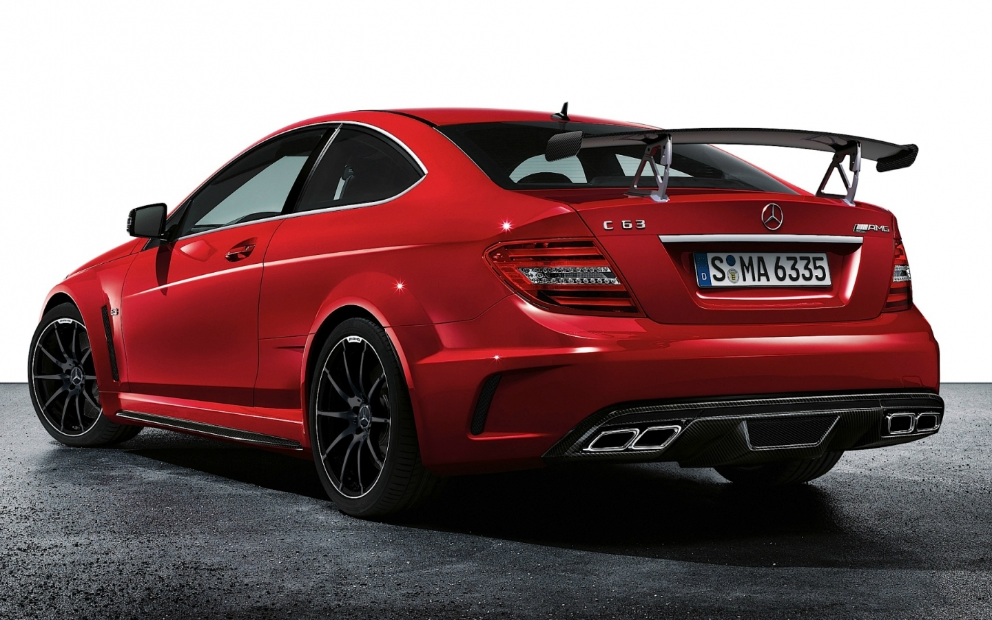 Mercedes benz c63 amg coupe wallpaper 1440x900 17424 for C63 mercedes benz
