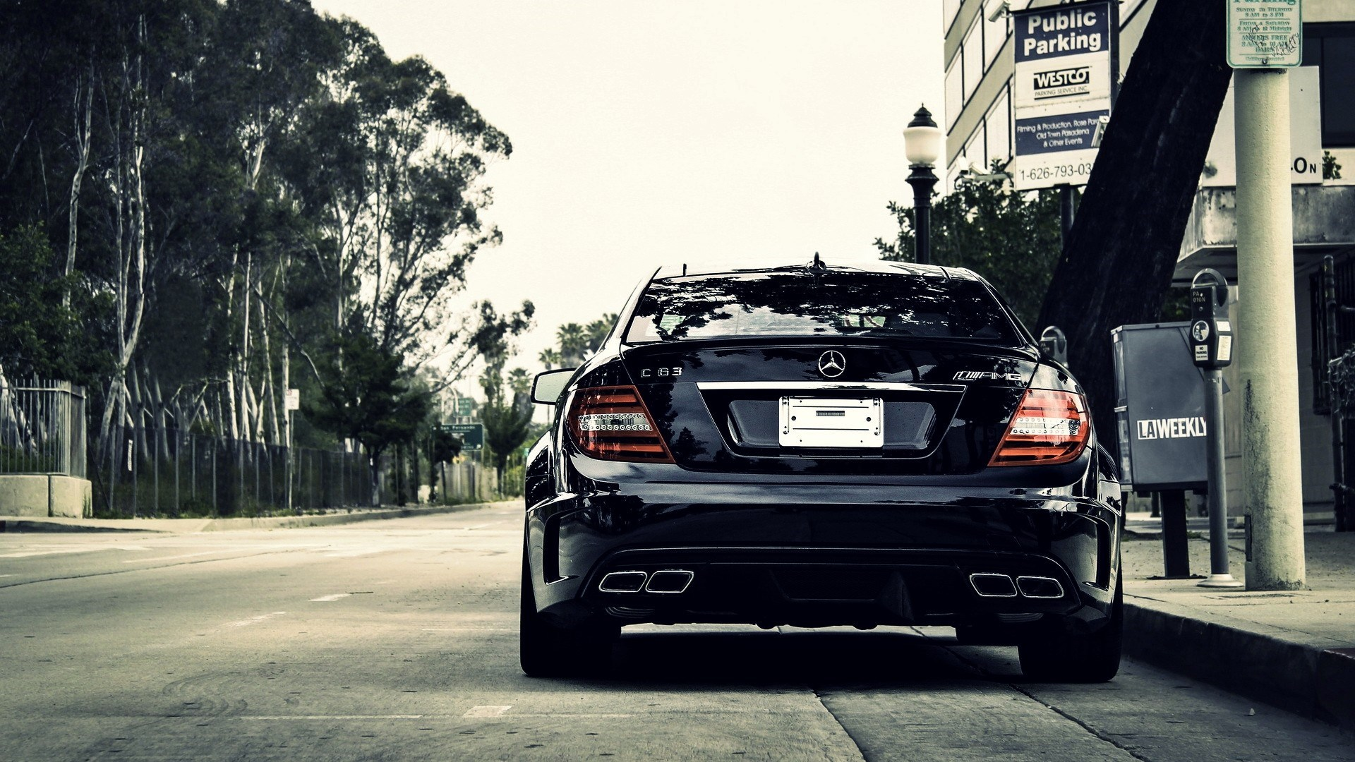 Mercedes-Benz C63 AMG Street City