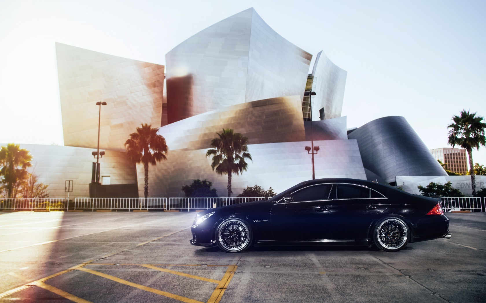 Mercedes-Benz CLS 55 AMG Tuning Car