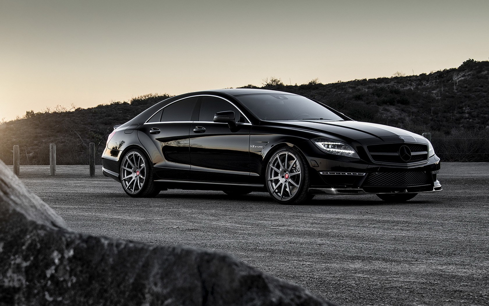 mercedes benz cls 63 amg tuning car wallpaper 1680x1050. Black Bedroom Furniture Sets. Home Design Ideas