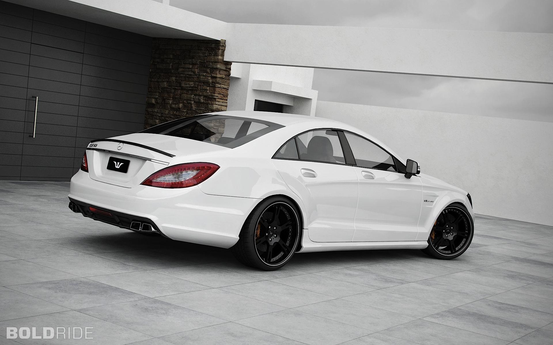 2011 Wheelsandmore Mercedes-Benz CLS 63 AMG 1600 x 1200