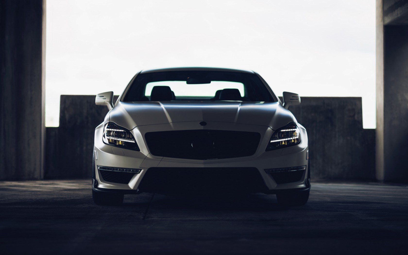 Mercedes-Benz CLS63 AMG Tuning Front