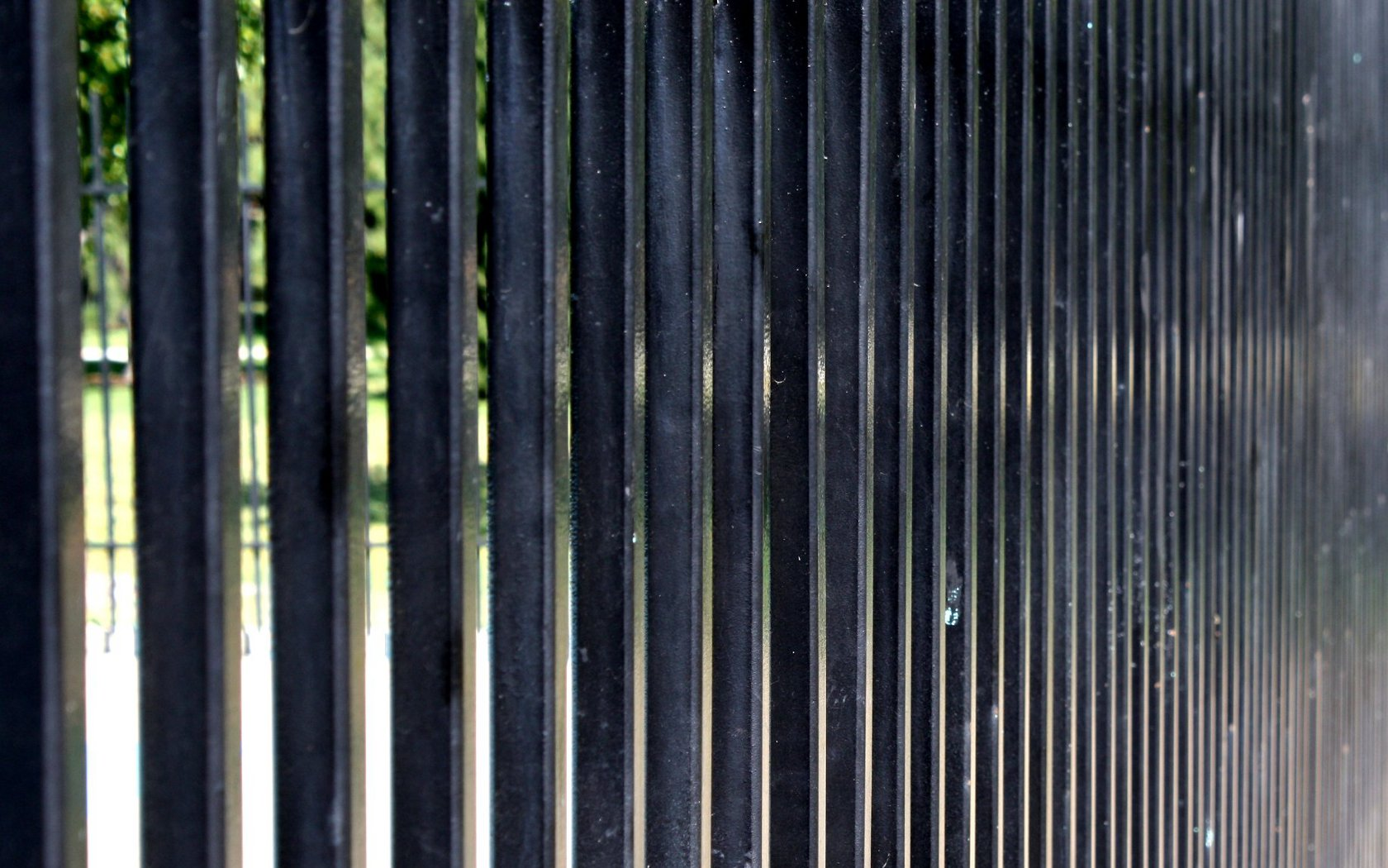 Metal Fence Background