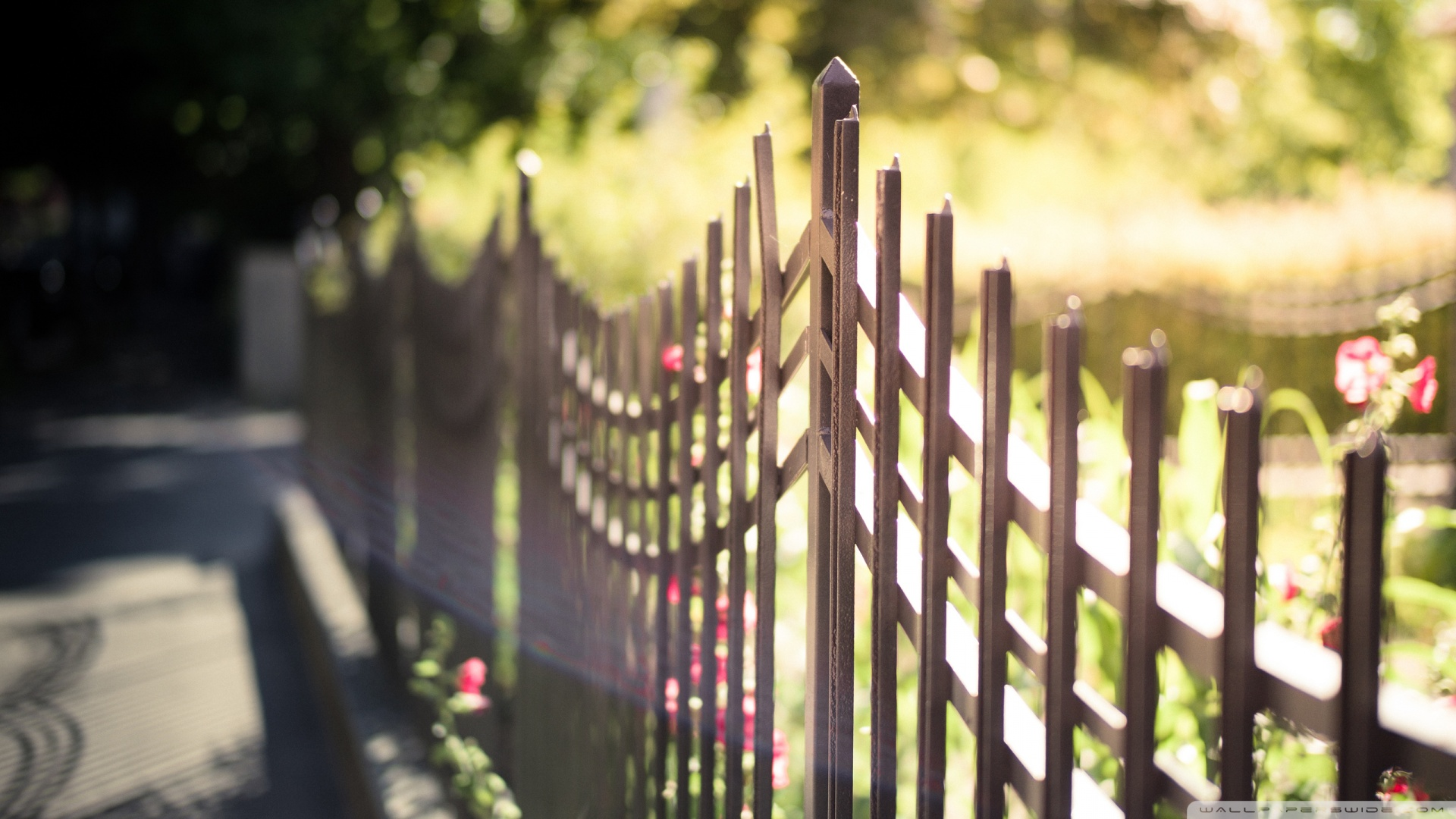 Metal Fence Wallpaper HD