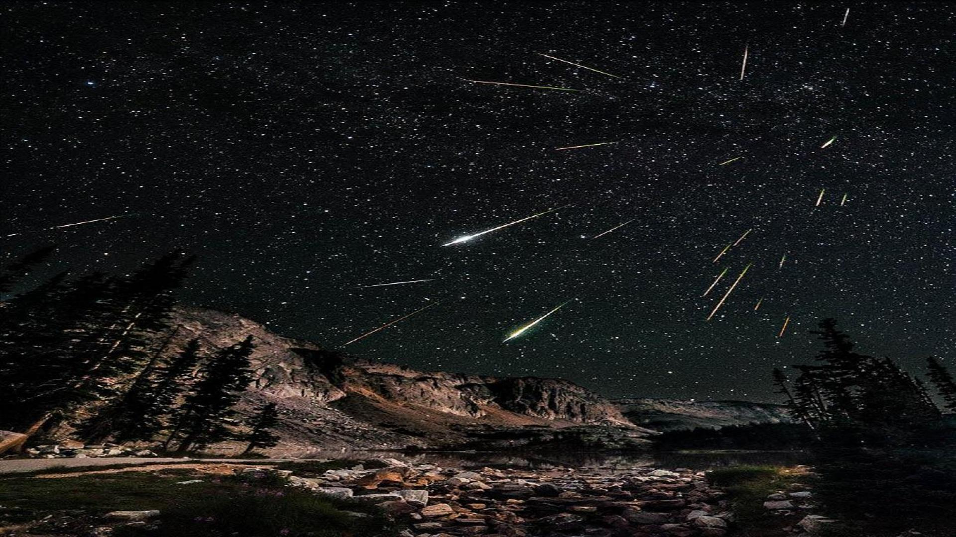 meteor shower wallpaper | 1920x1080 | #30988