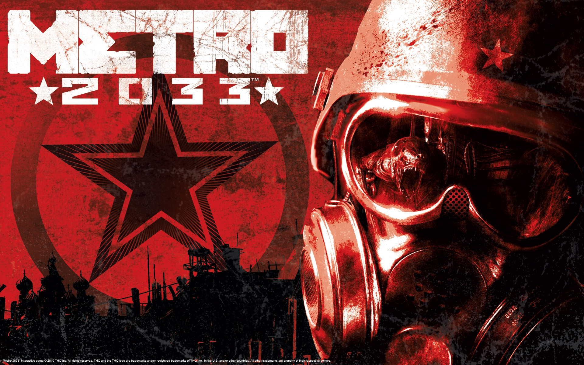 Metro 2033 Wallpaper 1920X1080 1920x1200