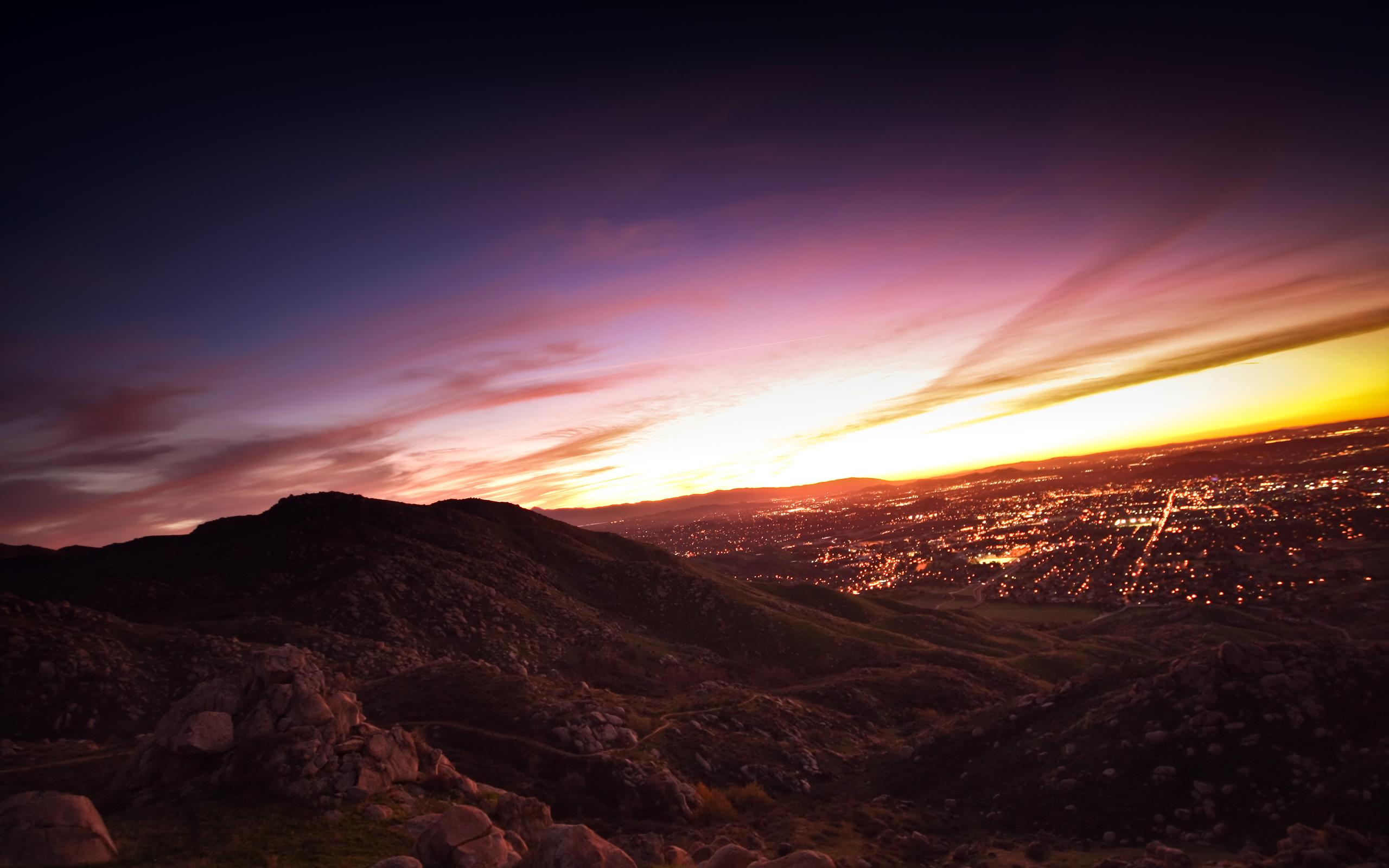 Metro Sunset