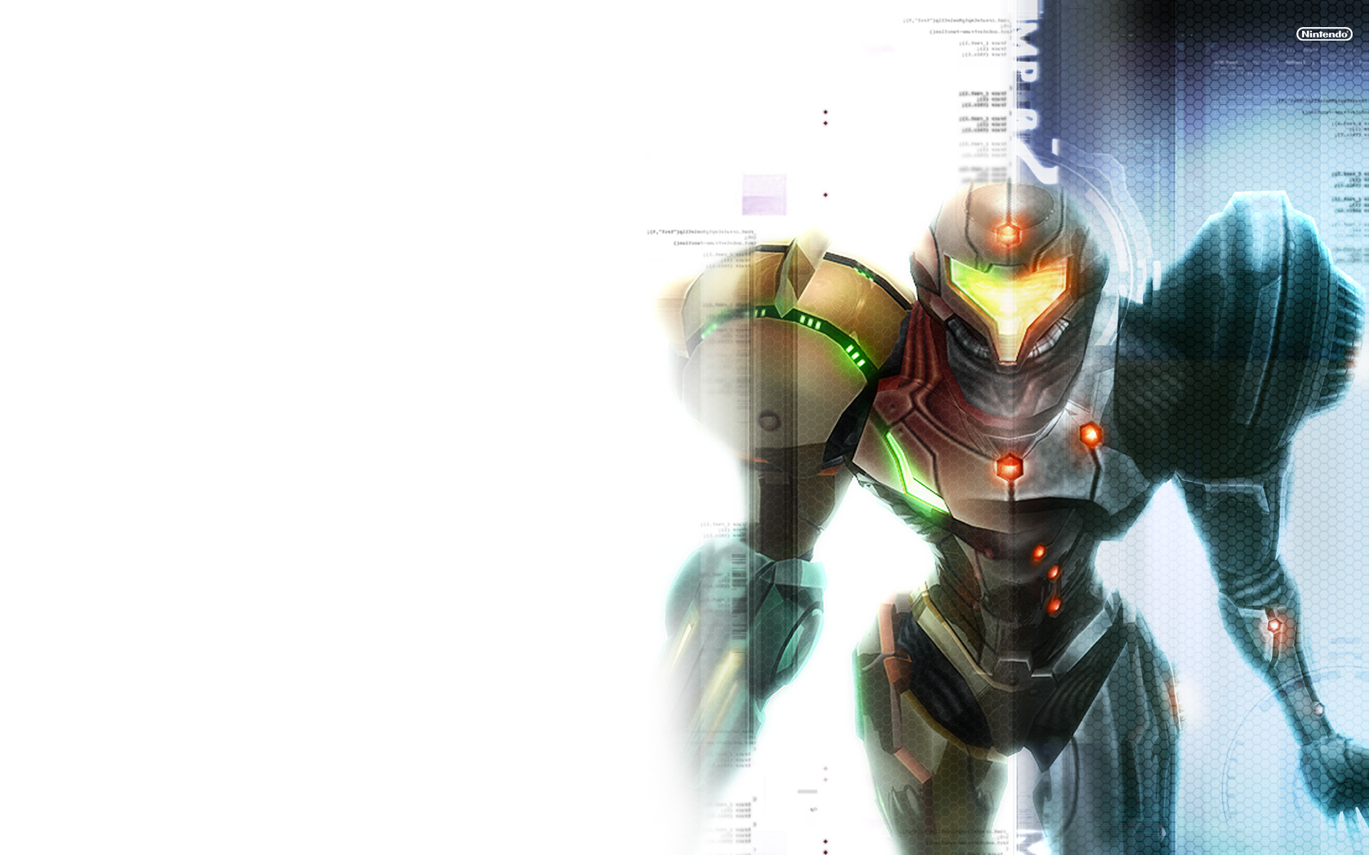 Here's the largest one: http://metroid.com/primetrilogy/imgs/media/01_1920x1200_wallpaper.jpg