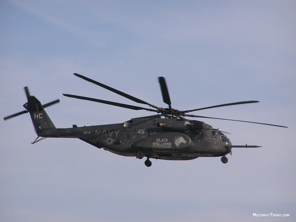 MH 53 Helicopter