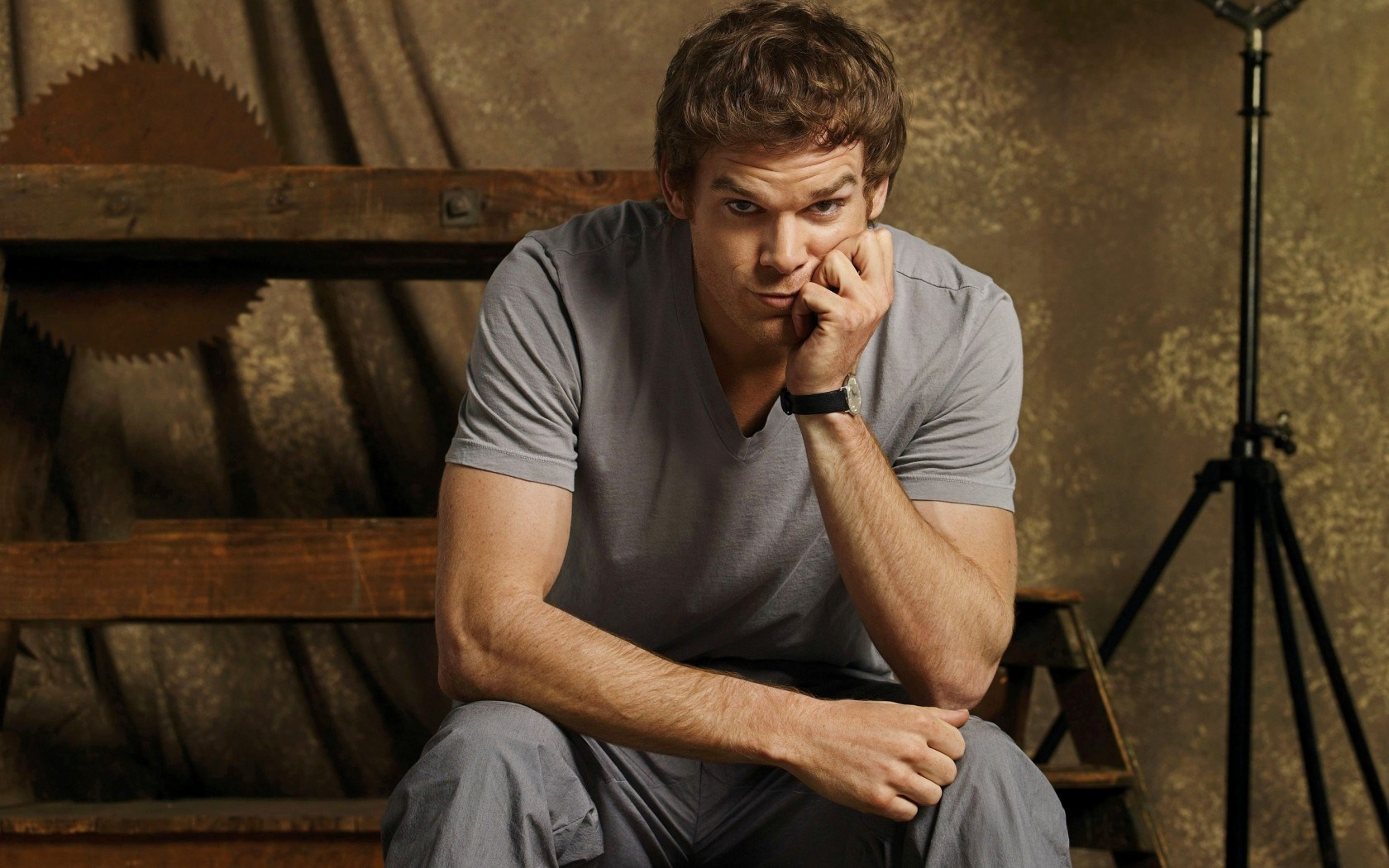 Michael Hall Man Look Actor Tv Series Dexter