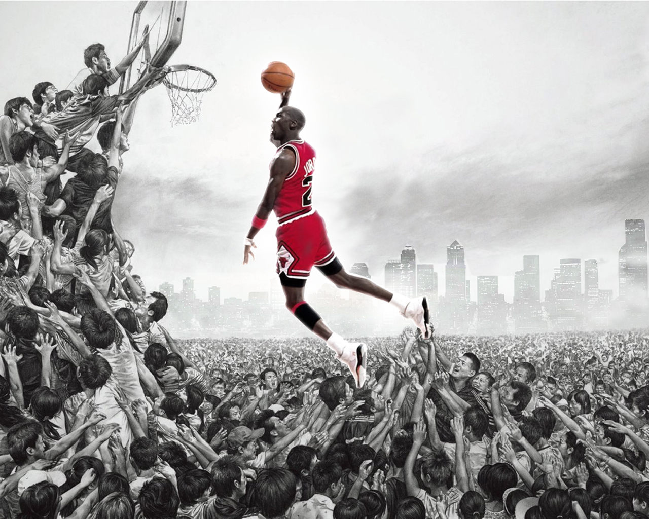 Michael Jordan HD Wallpaper