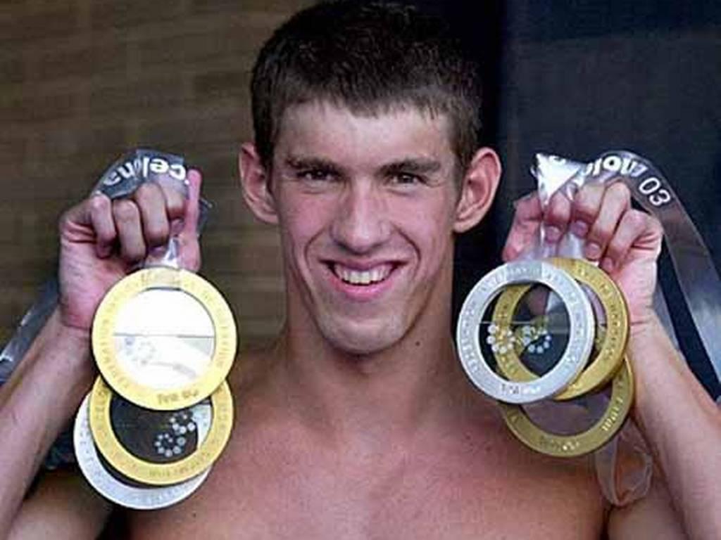 Home » Michelle Phelps » Michael Phelps, El Hombre Récord
