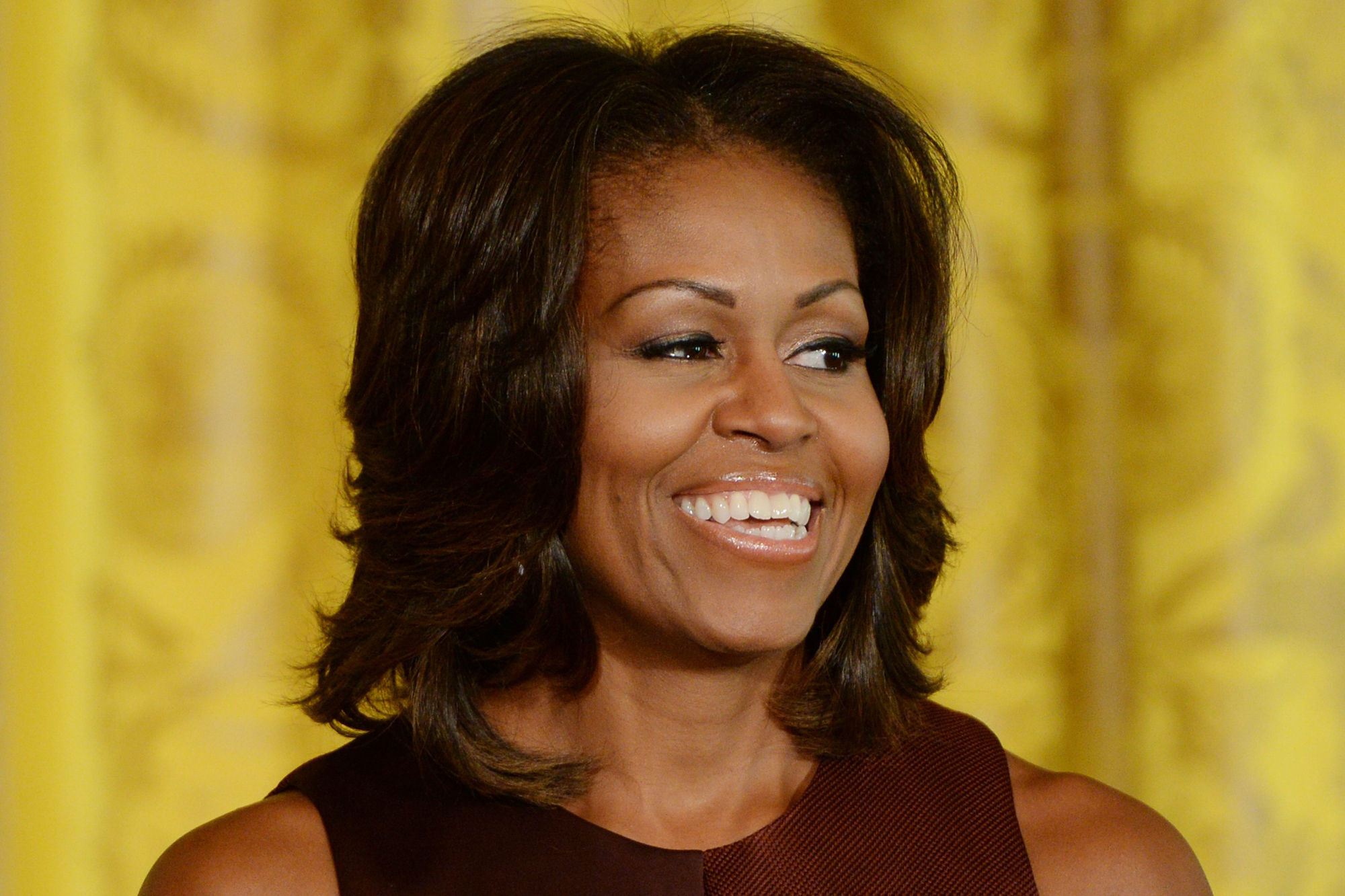 First Lady Michelle Obama Photo: EPA