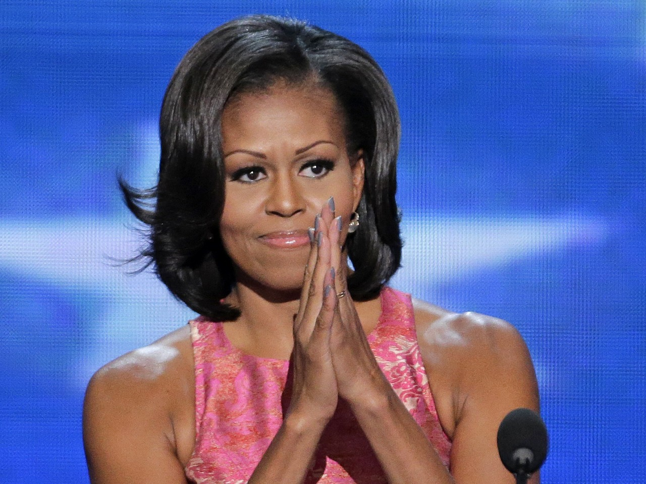 """For Barack,"" said Michelle Obama in her wildly acclaimed speech tonight, ""these issues aren't political – they're personal."""