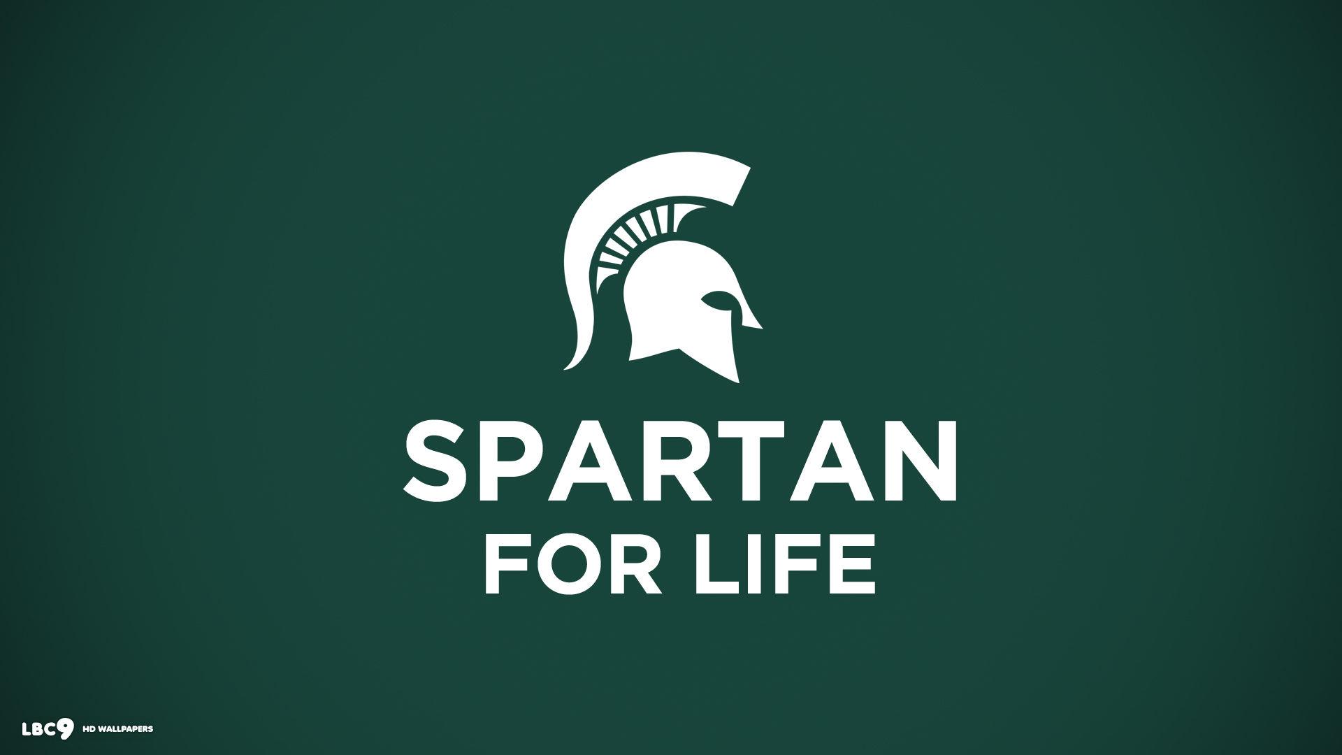 spartan for life motto wallpaper