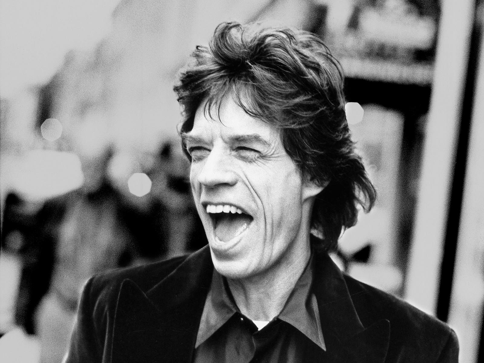 ... Mick Jagger ...