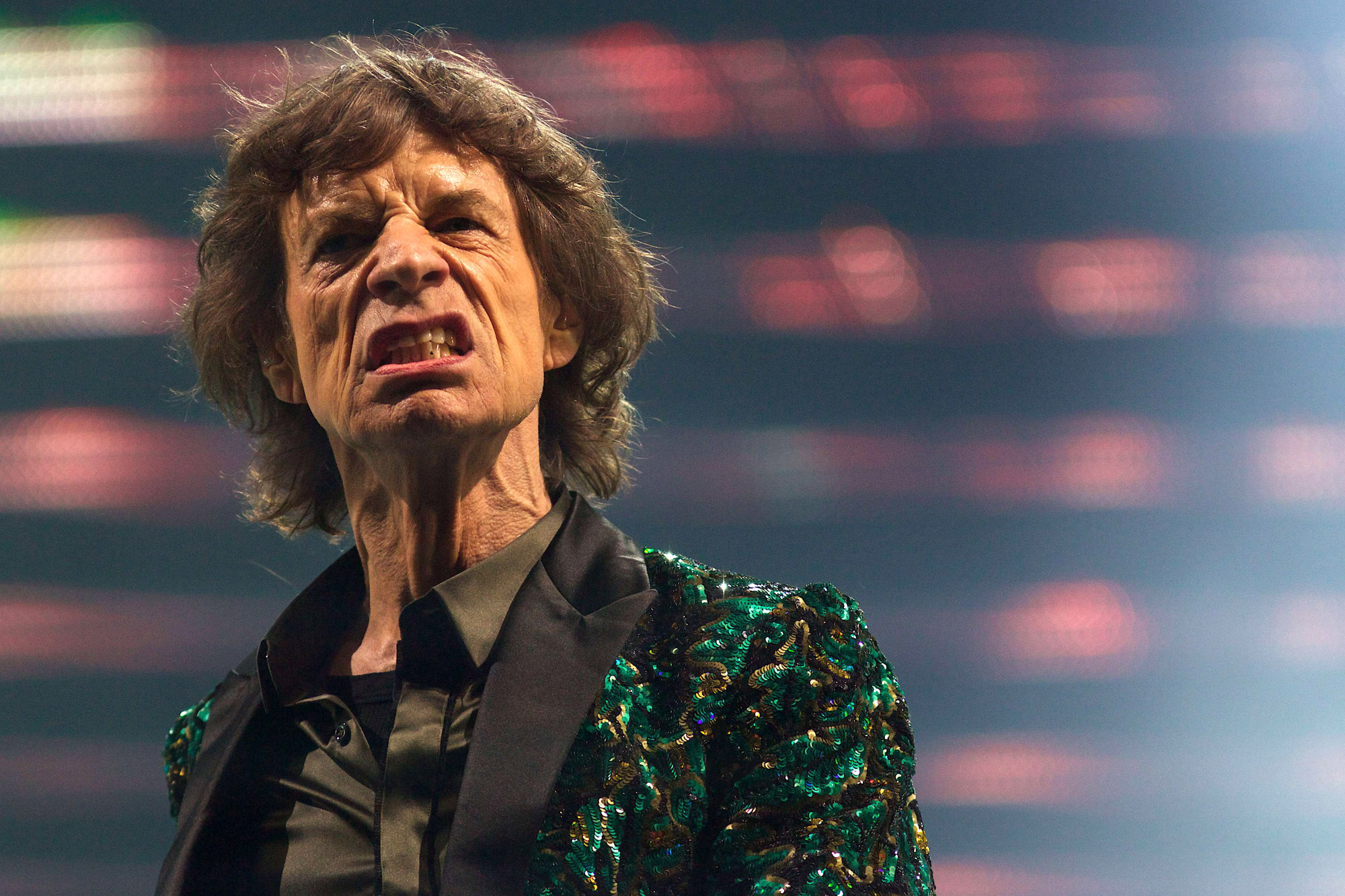 British musician Mick Jagger is about to become a great-grandfather at age 70. Photo: Getty Images