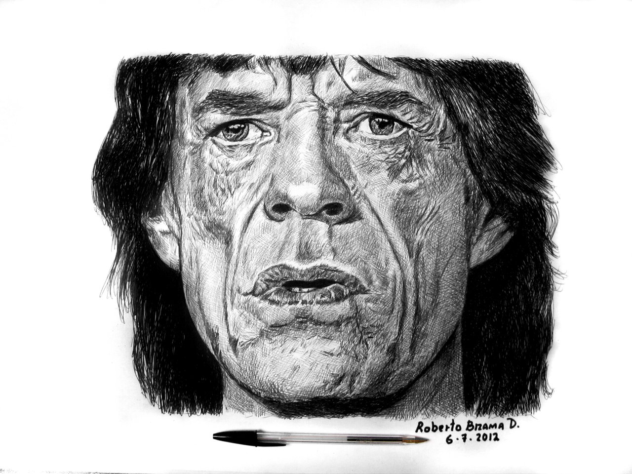 SIR MICK JAGGER by RobertoBizama SIR MICK JAGGER by RobertoBizama