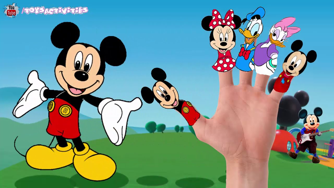 Mickey Mouse Finger Family Collection Mickey Mouse Finger Family Songs Nursery Rhymes