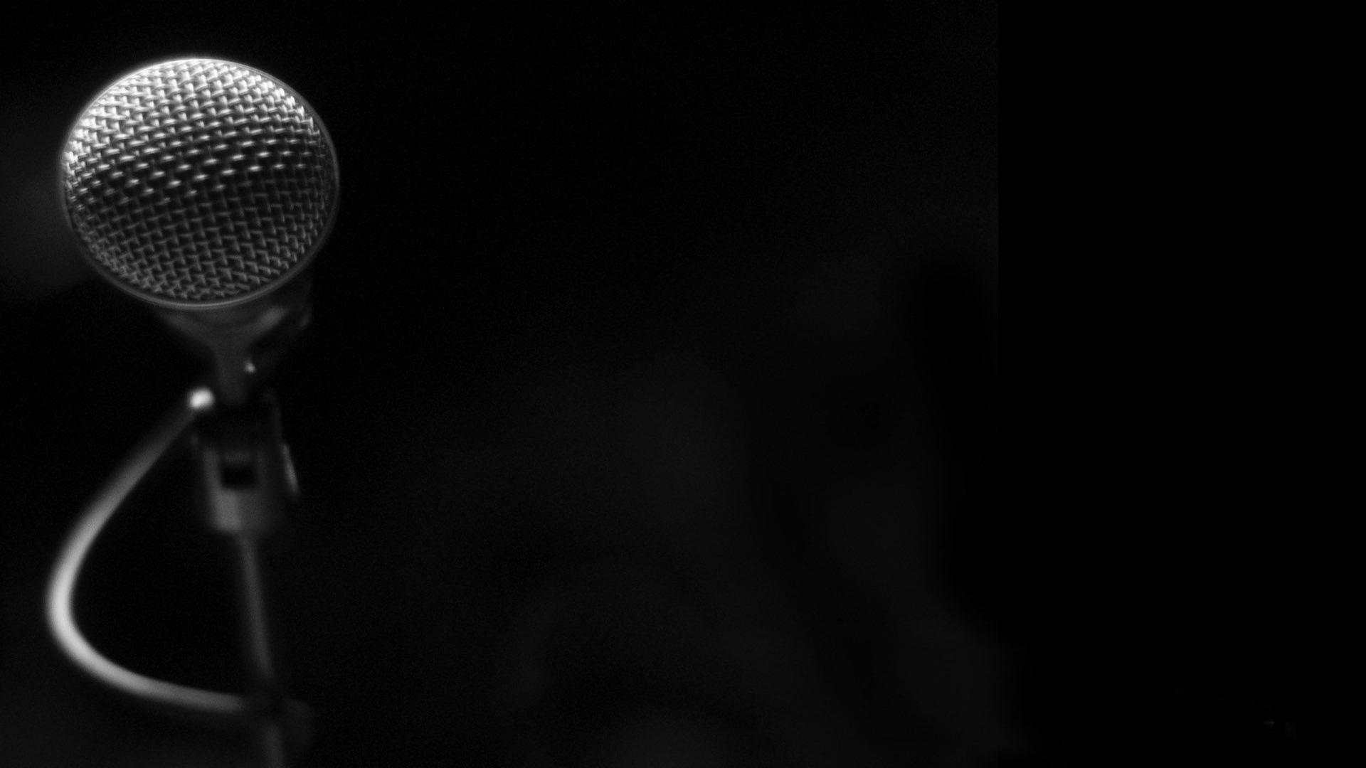 Microphone Background 34327 1920x1200 px