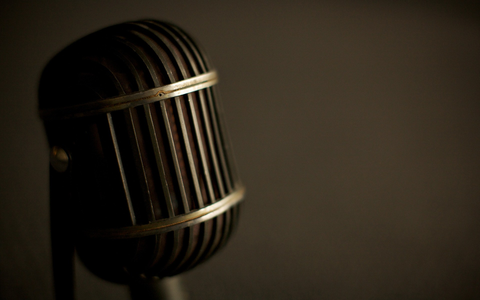 Microphone Close Up Wallpaper