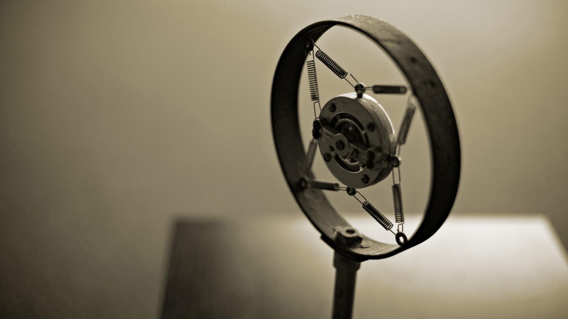 Microphone Retro Stand Music Photo