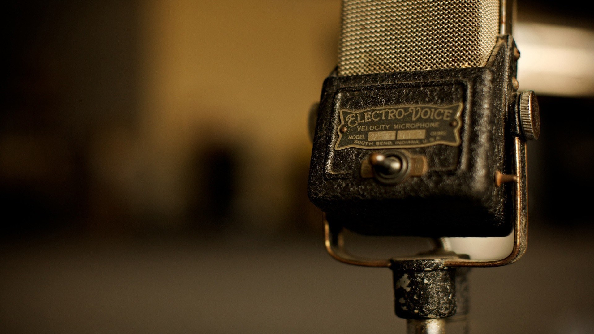 Microphone Vintage Old Music