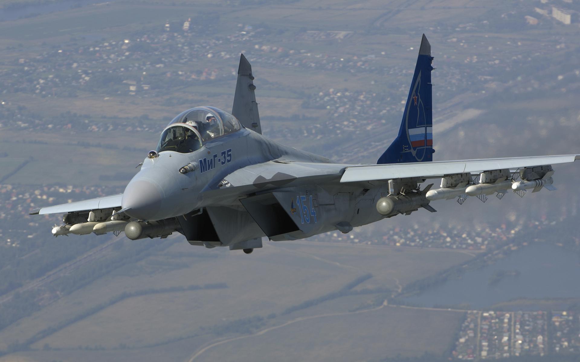 1920x1200 Military Mikoyan MiG-35