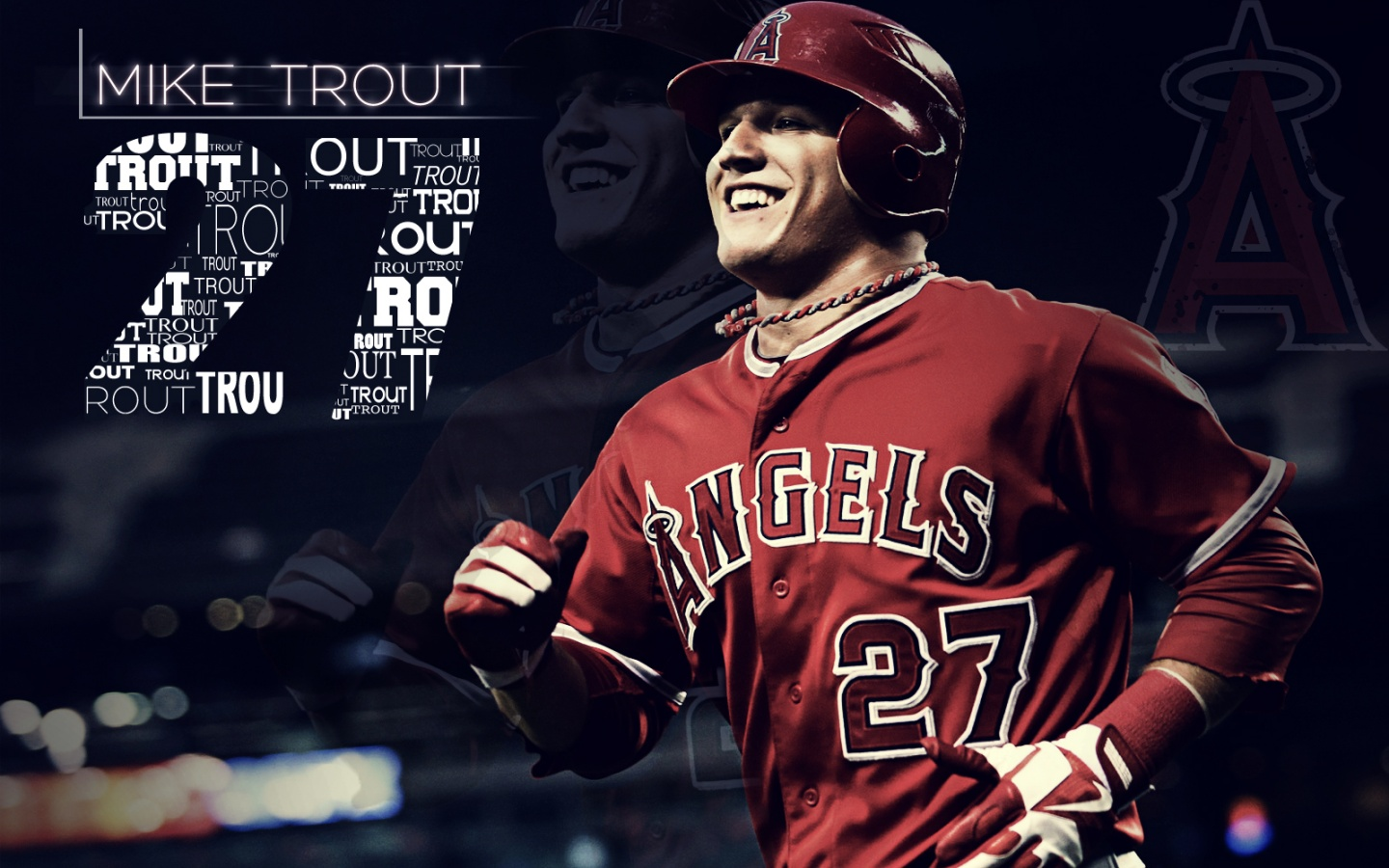 Download Mike Trout wallpaper wallpaper | Unknown
