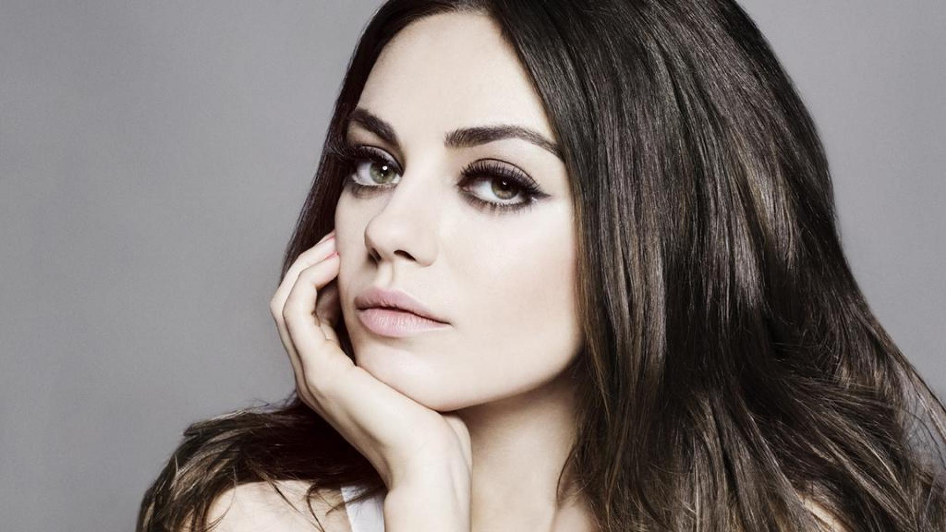Wallpaper Tags: kunis mila mila kunis actress face beautiful model
