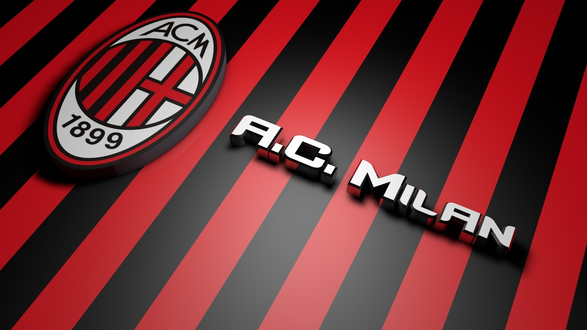 Fonds d'écran Ac Milan PC et Tablettes (iPad, etc...)