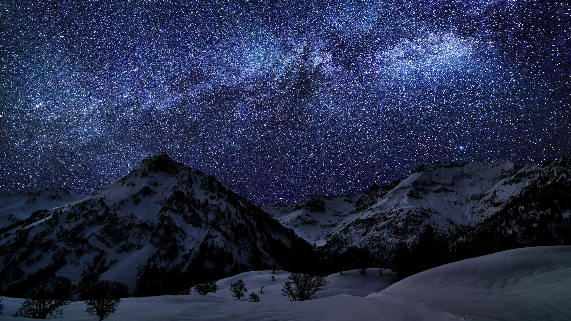 ... Milky Way Wallpaper ...