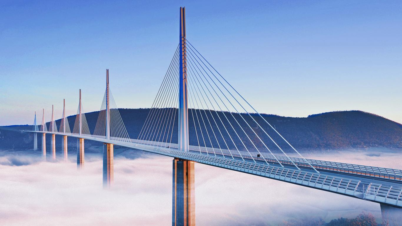Millau Viaduct Wallpaper