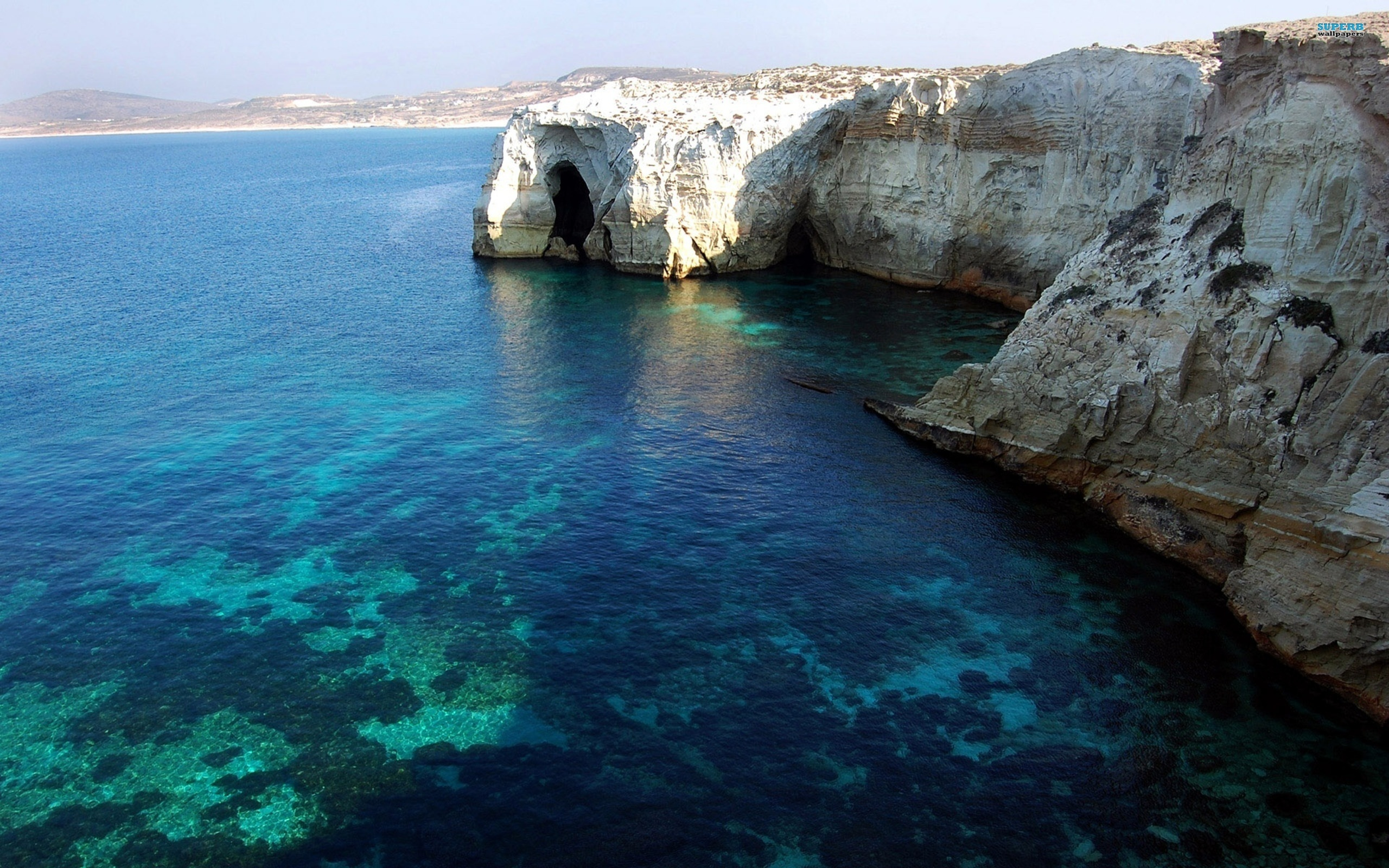 Description: The Wallpaper above is Milos Island Greece Wallpaper in Resolution 2560x1600. Choose your Resolution and Download Milos Island Greece Wallpaper