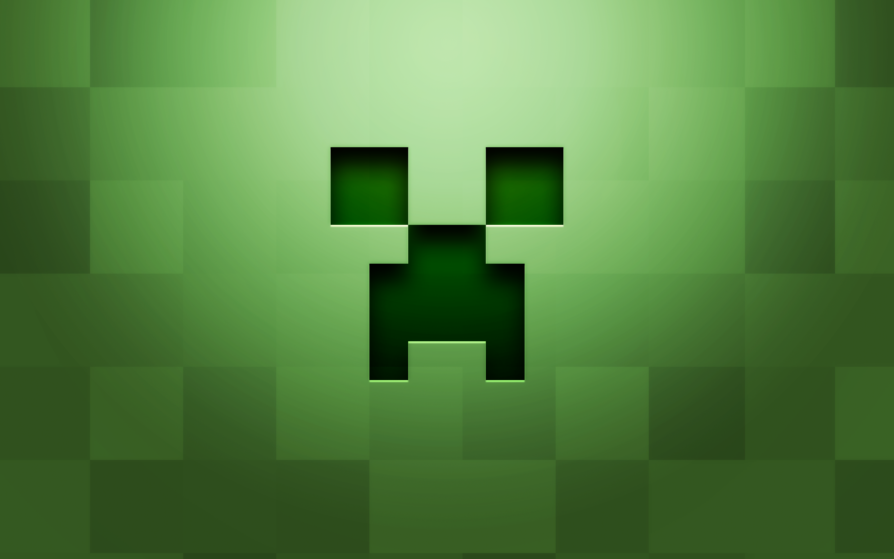 DOWNLOAD WALLPAPER Minecraft Creeper Face - FULL SIZE ...