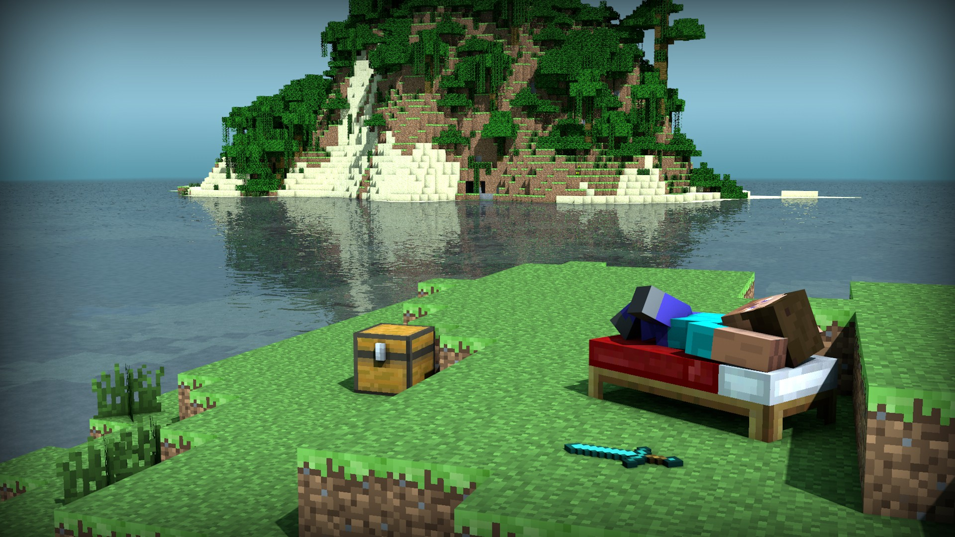 Minecraft HD Wallpaper