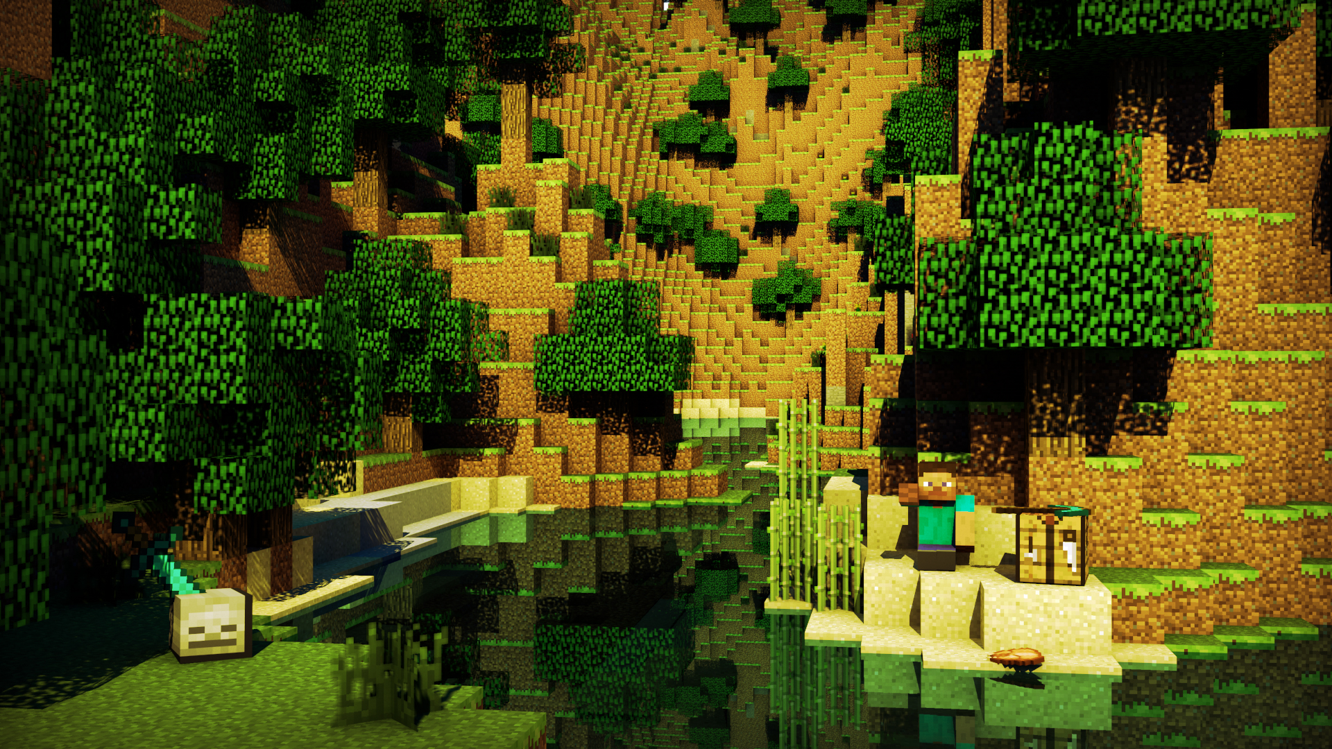 minecraft wallpaper 1920x1200 original - photo #26