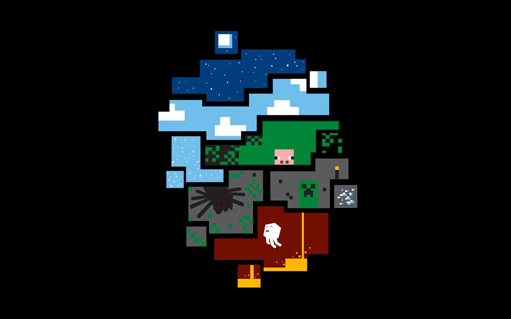 Minecraft Wallpaper Amazing Desktop Widescreen 213 Backgrounds