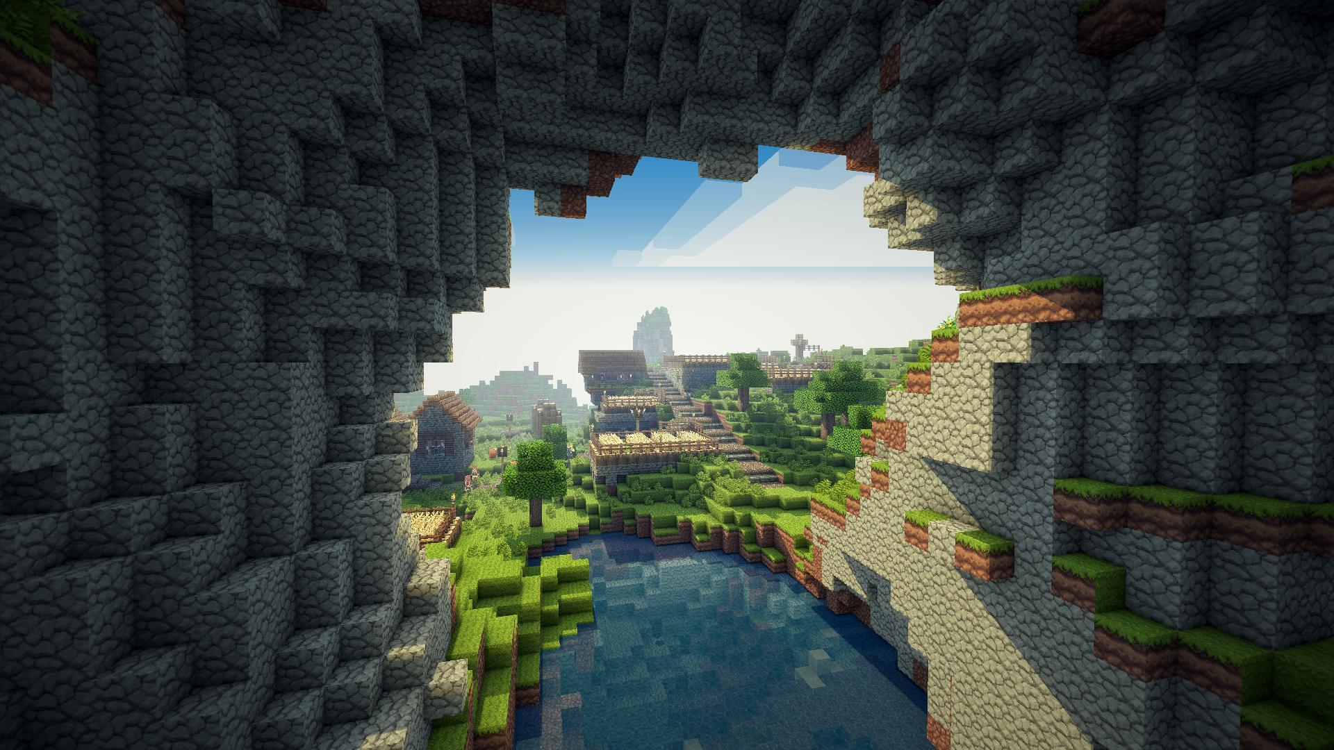 Minecraft Res: 1920x1080 HD / Size:327kb. Views: 683162