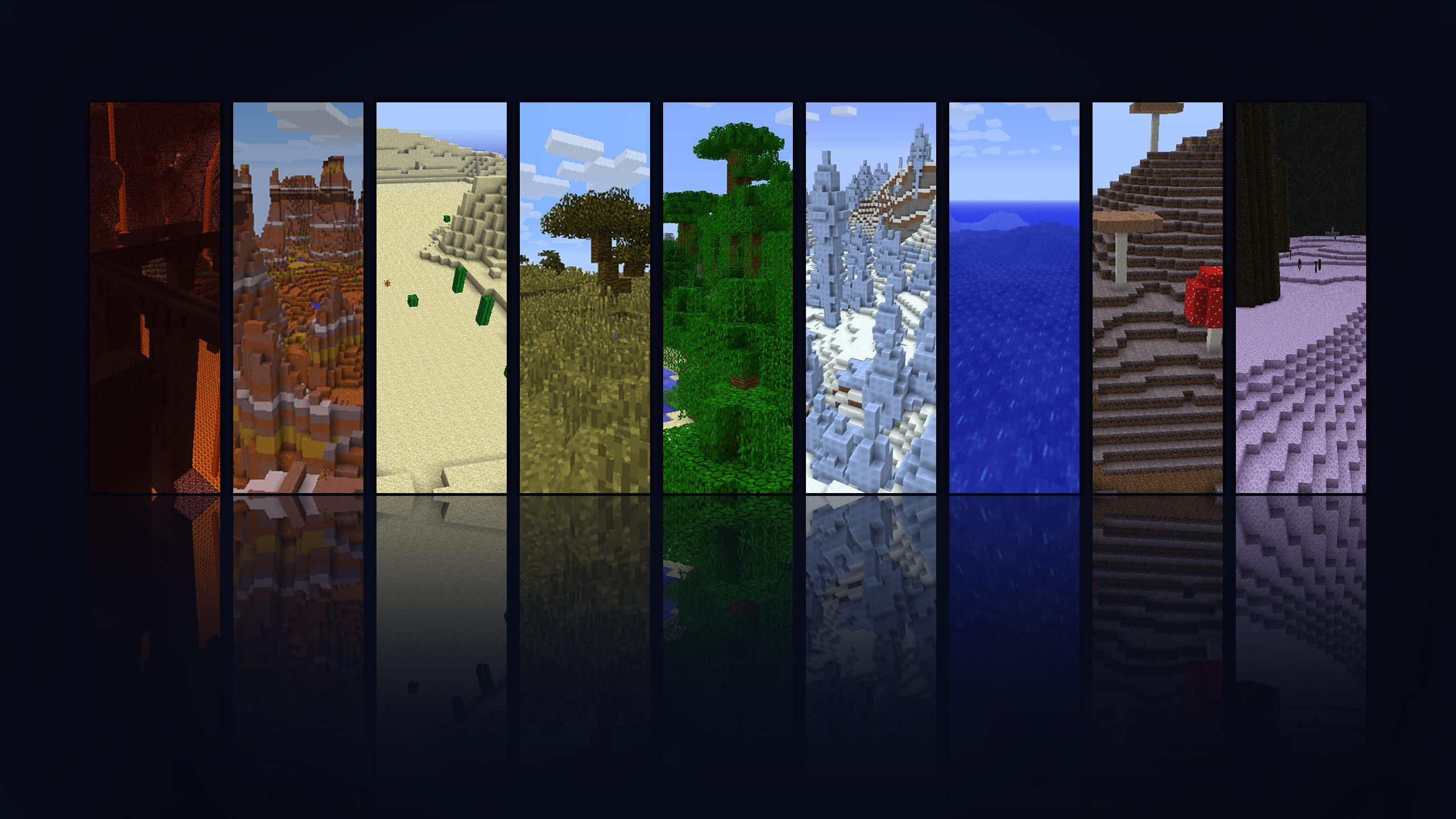 Minecraft Wallpaper 2560x1440