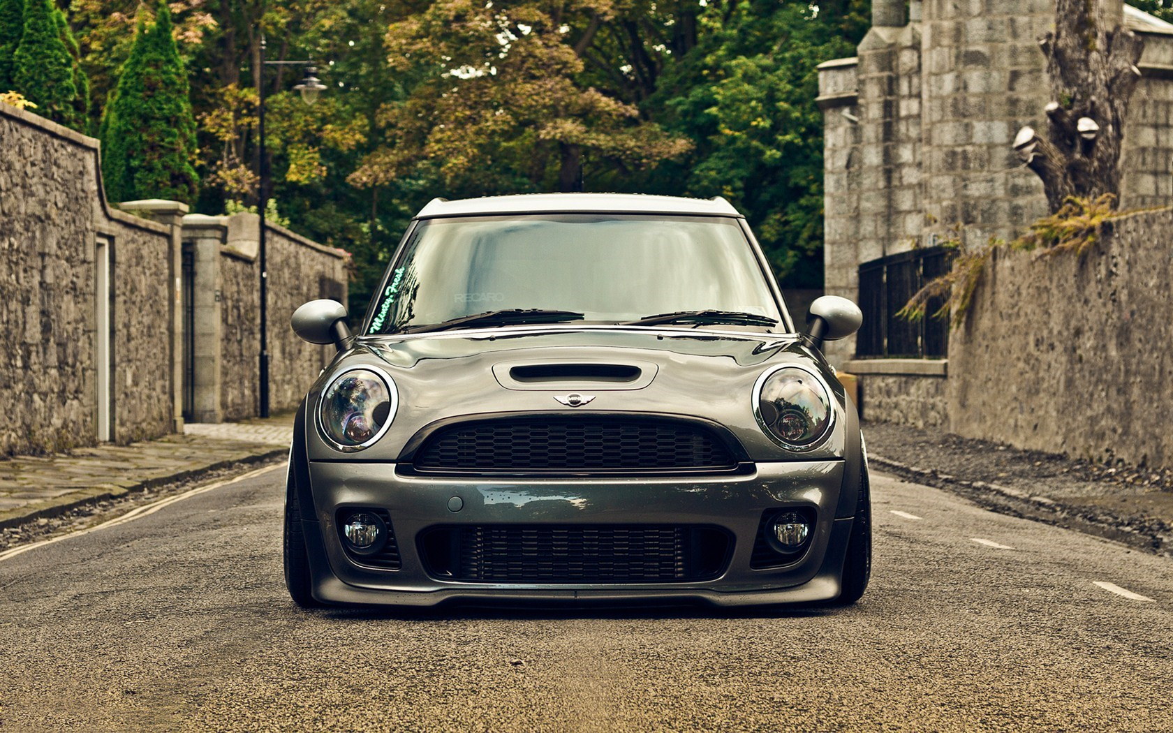 Car Front Mini Cooper Tuning HD Wallpaper