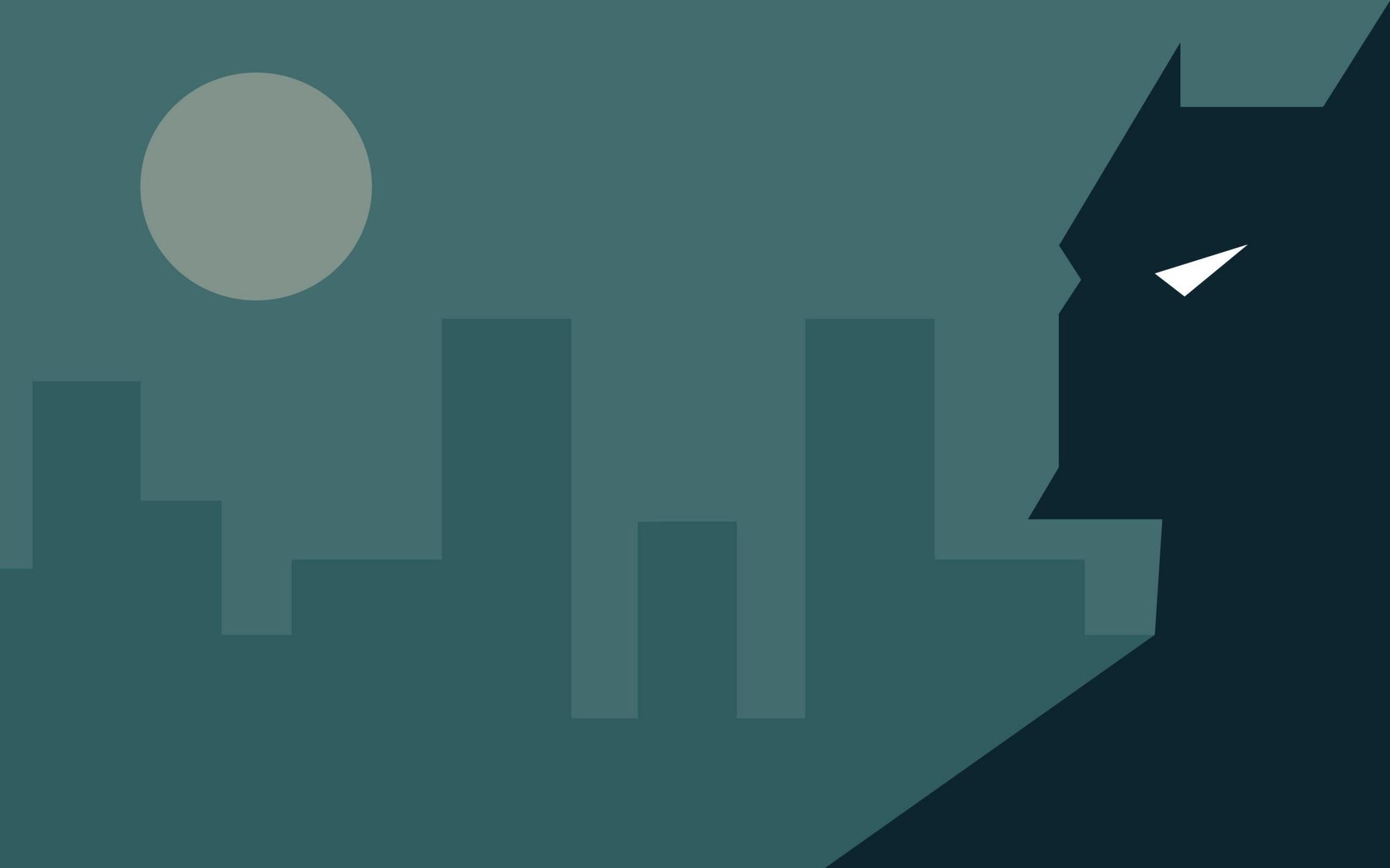 Minimalism Batman City